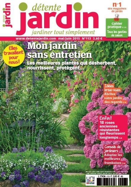 dtente jardin n113 maijuin 2015 plantes dsherbantes ides - Detente Jardin