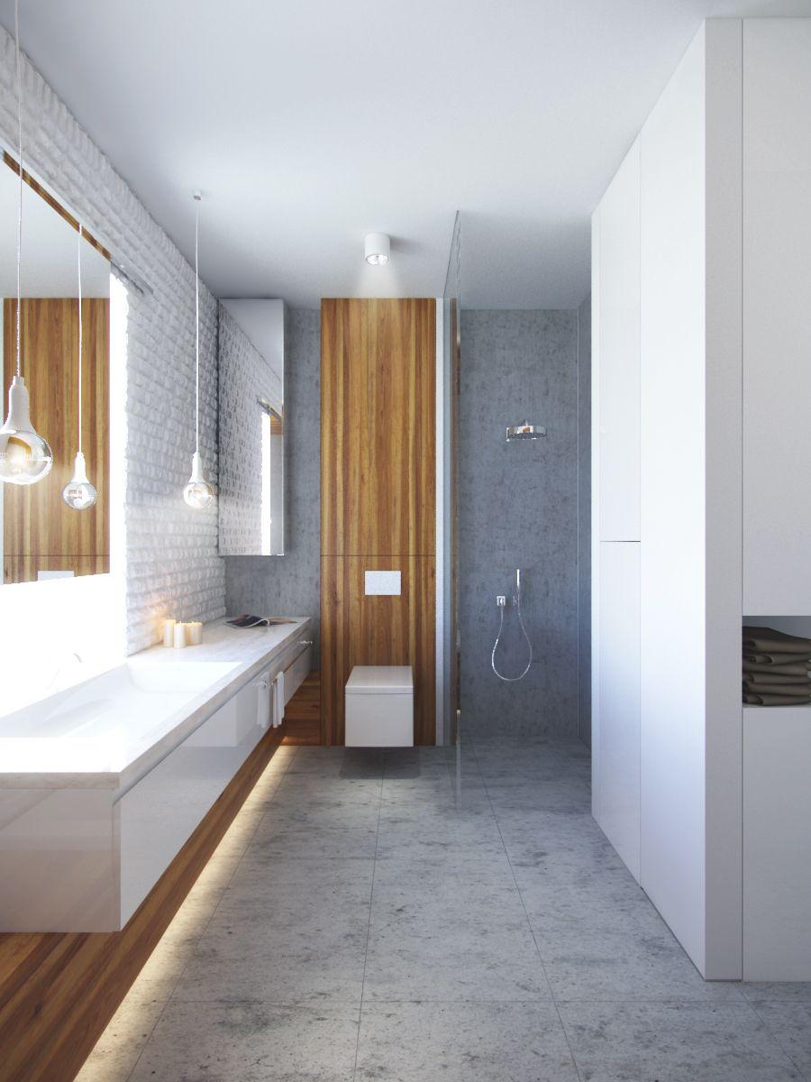 łazienka Betondrewnoceramika Projekt 2013 Akcenty