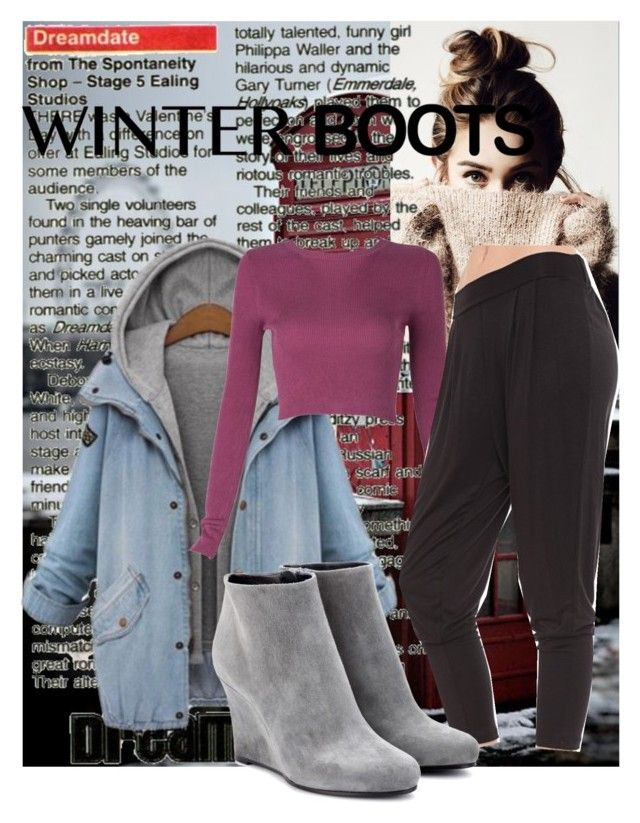 """""""Winter WonderBoots"""" by my-name-is-autumn-rain ❤ liked on Polyvore featuring Grayson and Jil Sander"""