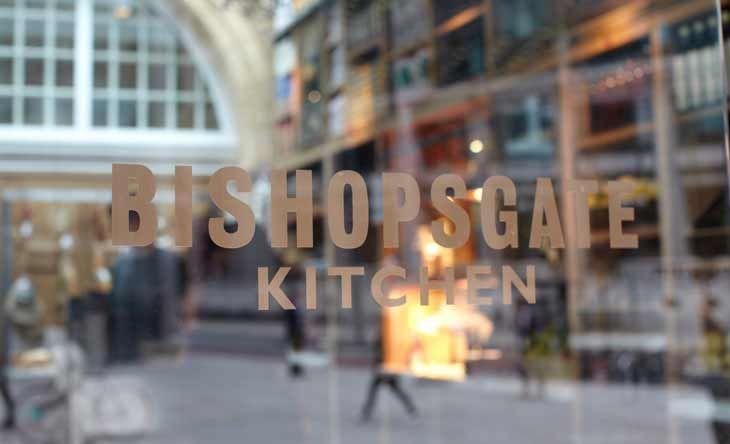 Bishopsgate Kitchen – 4 Brushfield Street Spitalfields  E1 6AN