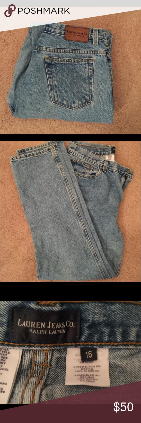 💐Ralph Lauren jeans/Lauren jeans co💐 Ralph Lauren/Lauren Jeans co jeans excellent condition Lauren Ralph Lauren Jeans Straight Leg