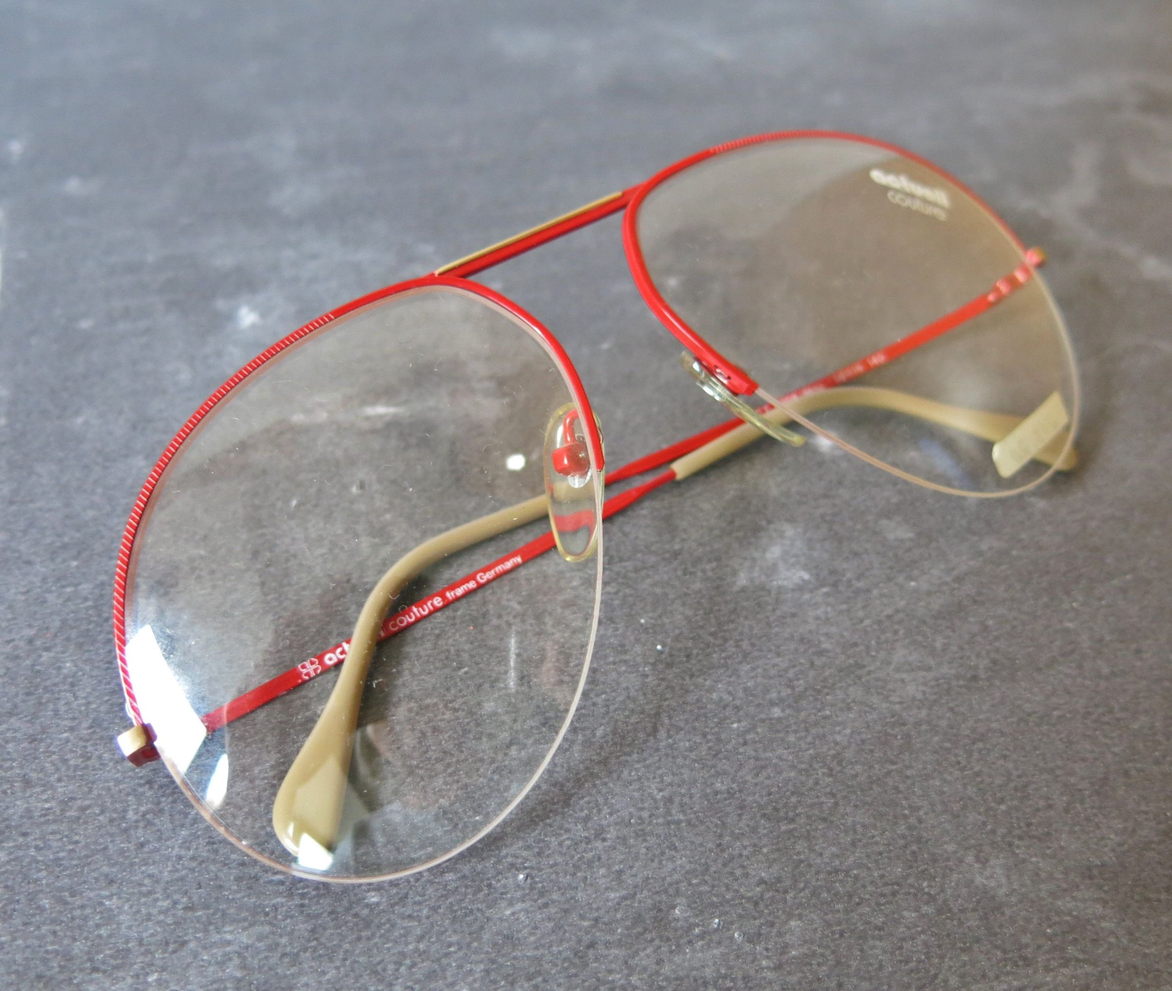 Actuell Couture Glasses Frame Aviator Form In 2019 Vintage