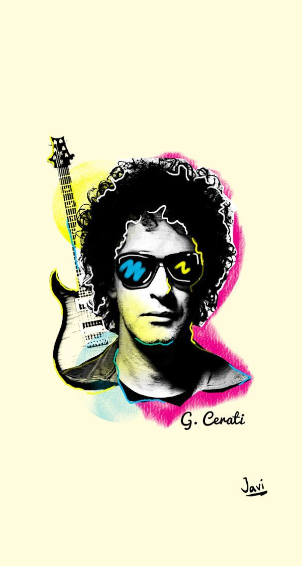 Gustavo Adrian Cerati Fue El Vocalista Guitarrista Y Compositor Principal De La Artistas Gustavo Cerati Gustavo Adrian Cerati