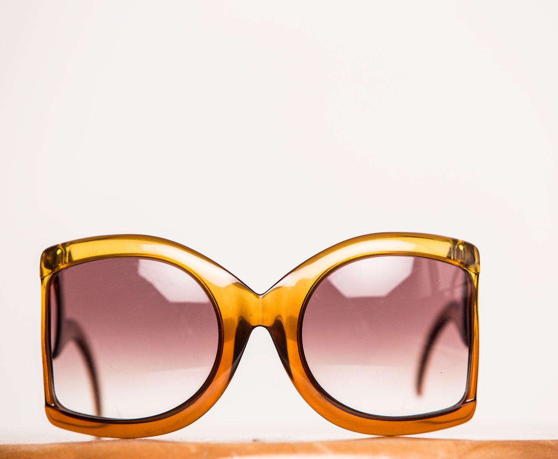 aab518d03 Massive RARE Vintage Christian DIOR 1970 Sunglasses by HUNTOPIA on Etsy Oculos  De Sol, Óculos