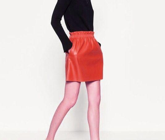 a9877b92a95 Купить Кожаная юбка - мини-юбка