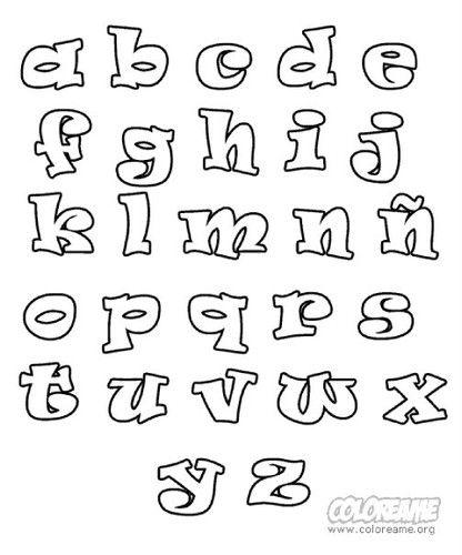 Abecedario De Letras Chidas