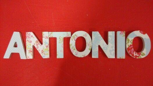 Nombre Antonio Nombre Nombres
