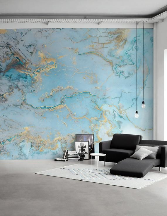 Wave Wallpaper Abstract Waves Wall Mural Nordic Art Wall