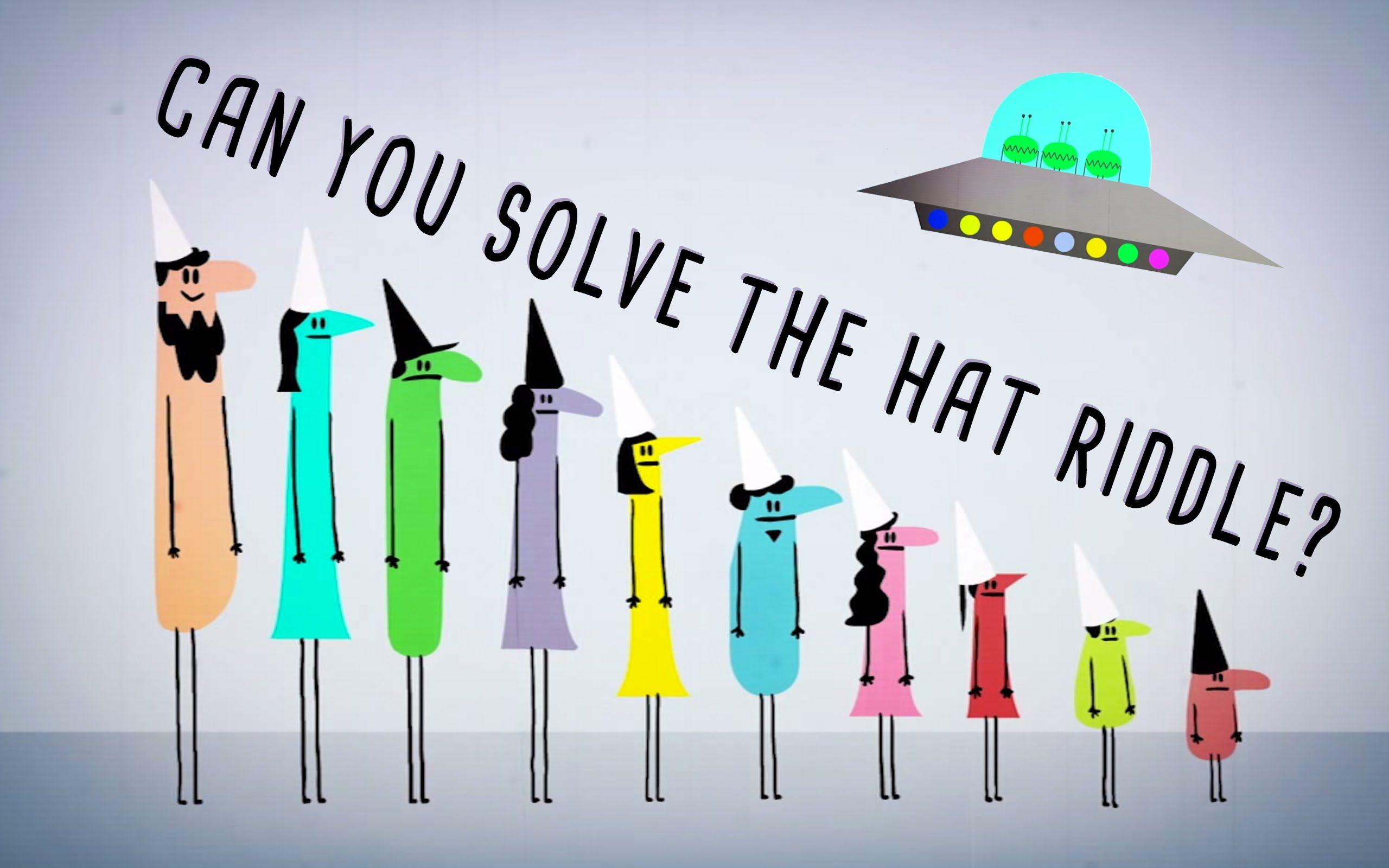 Can You Solve The Prisoner Hat Riddle