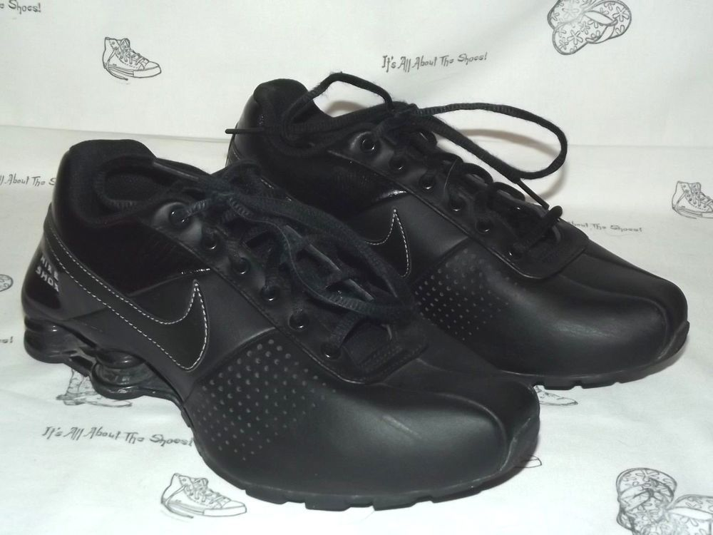 wholesale dealer 139c2 4cb09 NIKE Shox Deliver Black Running Sneakers Youth Size 6 (Womens Size 7.5 EU  38.5)  fashion  clothing  shoes  accessories  womensshoes  athleticshoes ( ebay ...