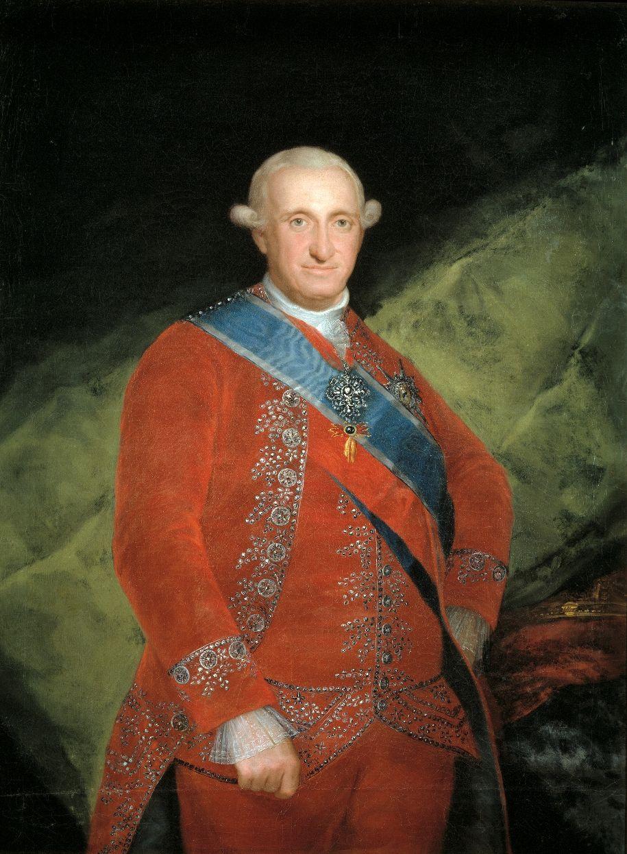 Carlos Iv 1748 1819 Francisco Jose De Goya Y Lucientes Retratos Cuadros De Goya Retrato De Hombre