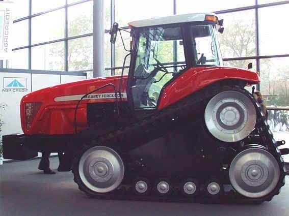 New Versatile Combines Massey Ferguson Track Tractor