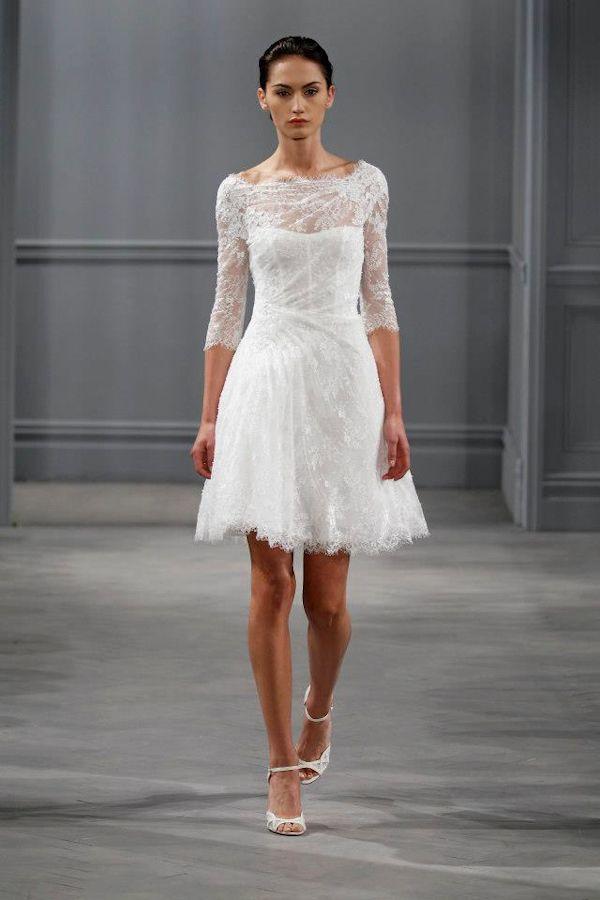 Elegant Short Wedding Dresses - Ocodea.com