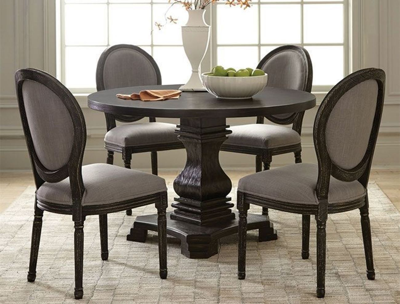 27 How To Use Upholstered Chairs For Dining Room Decoration To