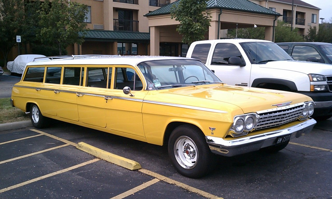 1962 chevrolet 8 door airport limo friends of the. Black Bedroom Furniture Sets. Home Design Ideas