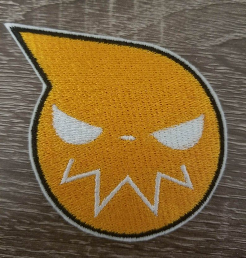 Soul Eater Iron On Patch Hand Made Patch Anime Patch Etsy In 2020 Iron On Patches Custom Patches Patches