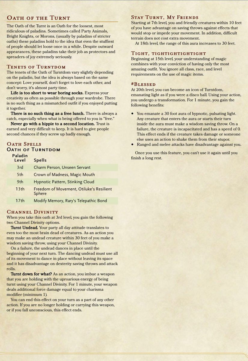 Embedded Dnd Classes Dnd Paladin Dnd 5e Homebrew Can modify memory bypass a revenant's ability to always know their target, and, if so, do they get the perks against the. pinterest