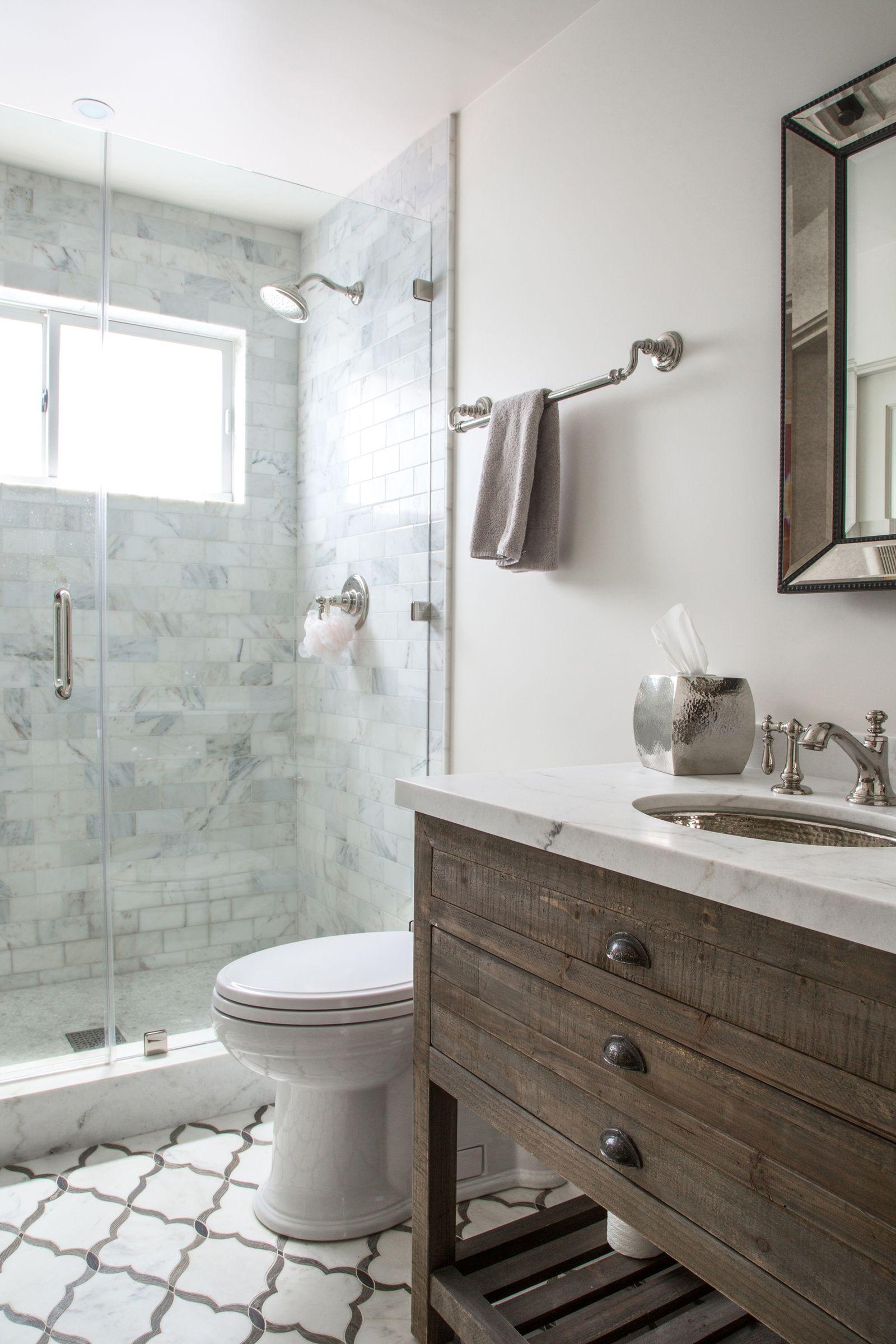 Guest Bathroom Ideas On A Budget Modern Farmhouse