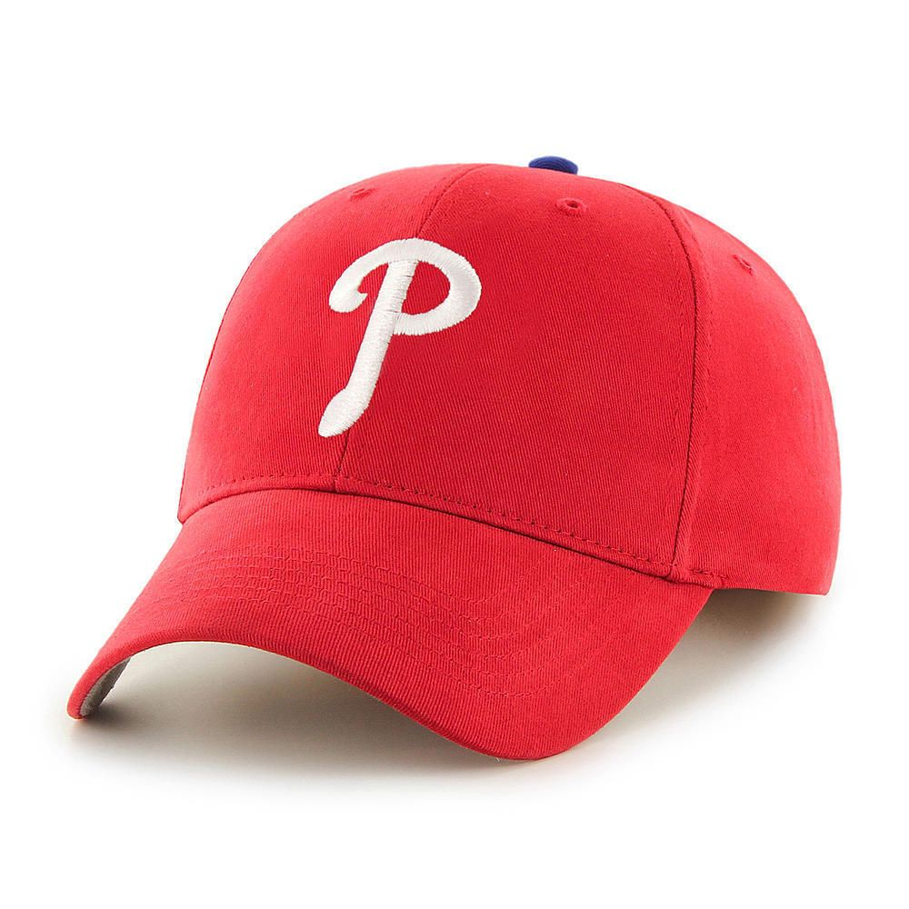 Philadelphia Phillies Baseball Hat MLB Adjustable Red Cap White Team
