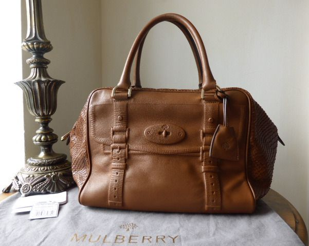 460aa029c884 cheap mulberry maisie clipper in oak silky snake print nappa leather sold  1fb39 8aa18