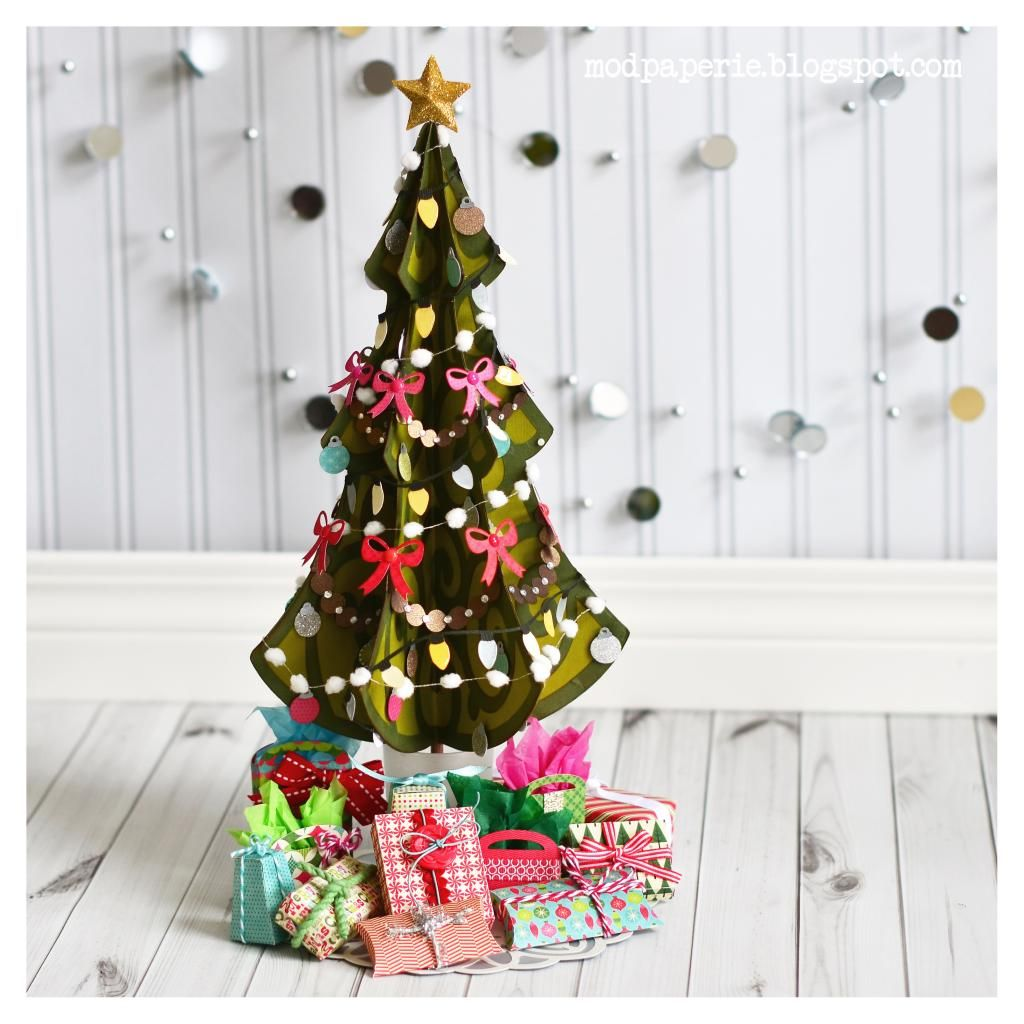A Very Merry Miniature Christmas Tree   SVG Cuts Project.