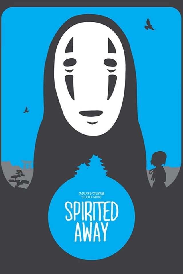 Pin by Ling Dino on Movie | Minimalist poster, Spirited ...