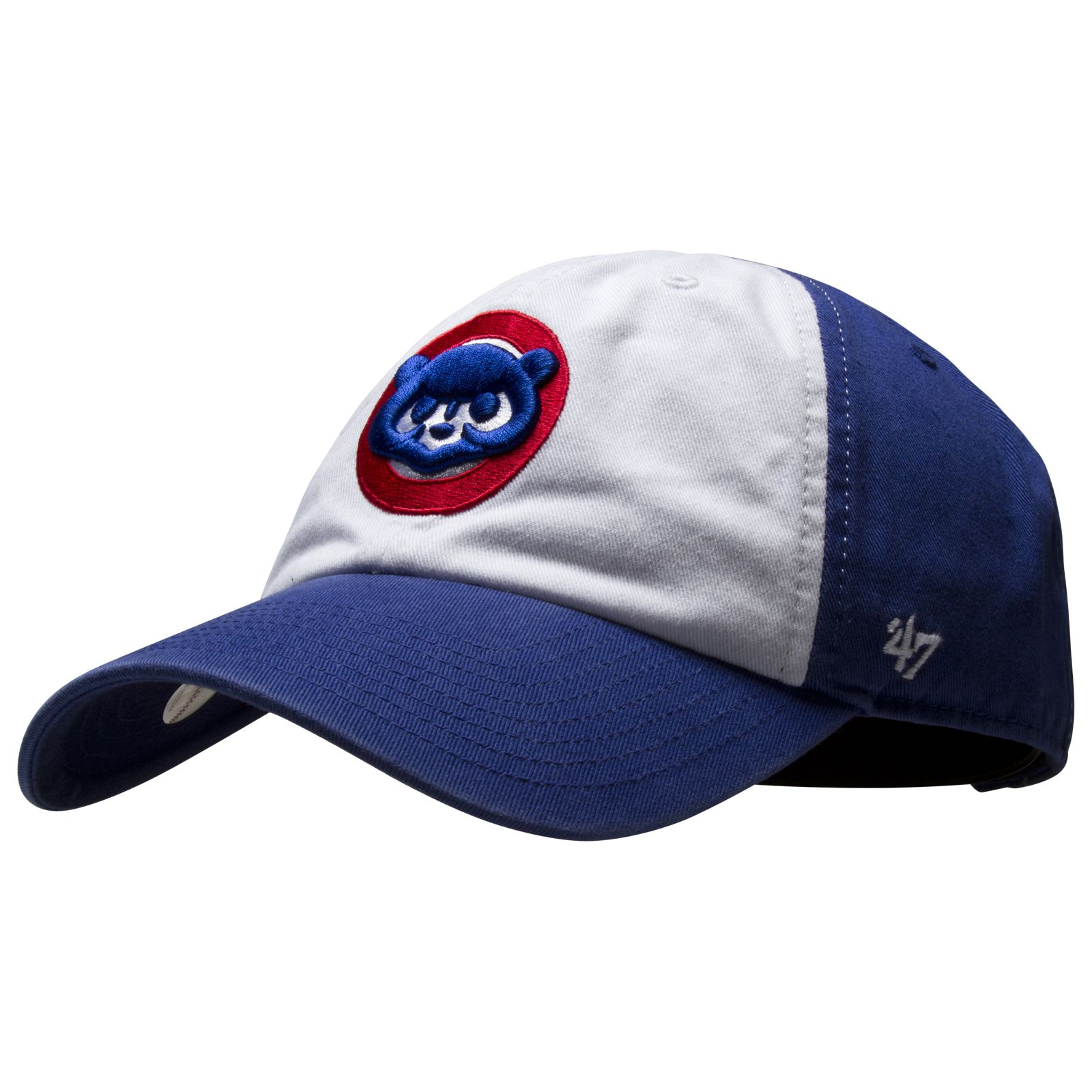 4fec0d5d994 Chicago Cubs White and Royal Freshman 1984 Logo Adjustable Hat by 47 Brand   Chicago  Cubs  ChicagoCubs