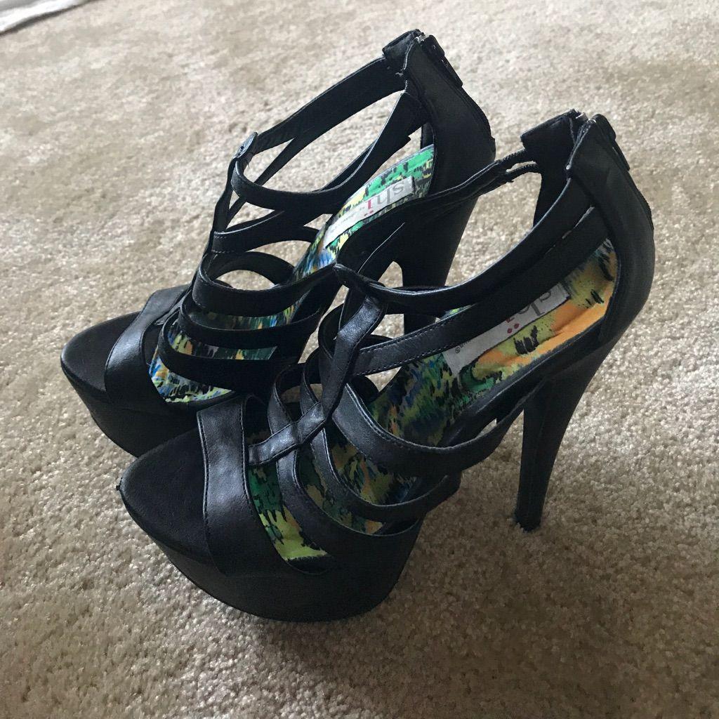 Black Heels From Journey'S