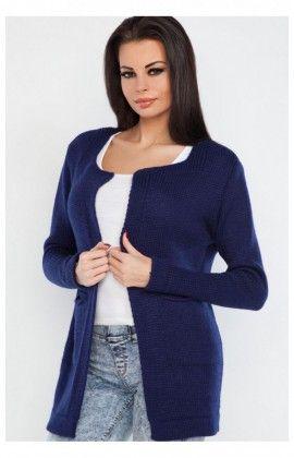 Cardigan Femme Model F236 Bleu Marine 61038 Fobya Cardigan Bleu, Bleu  Marine, Fatale, f82146cde1e1