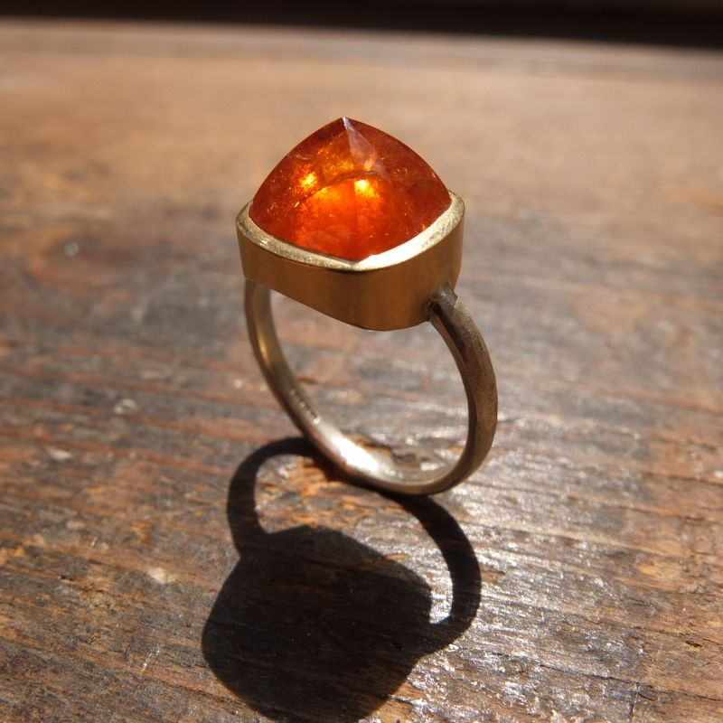 Imperial Topaz ring by Kate Higham