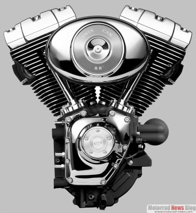 Turbo Harley Oil: The Harley Dyna & Touring Models Receive The New Twin Cam
