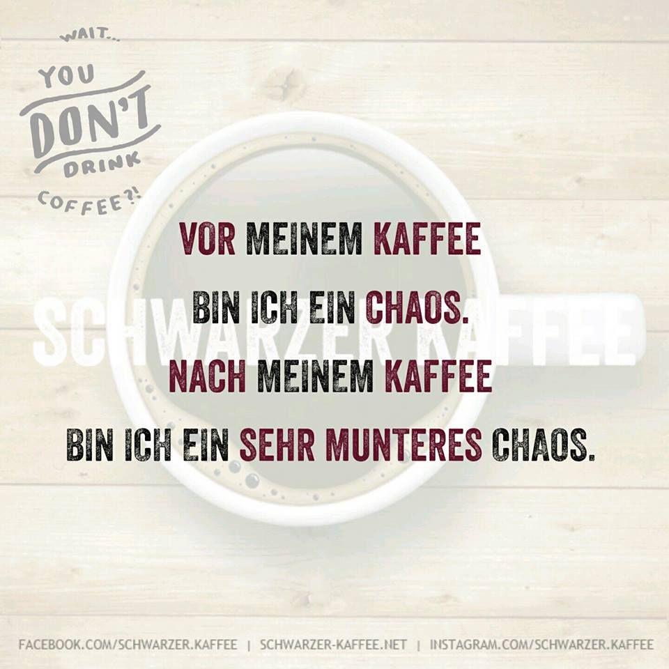Vor Und Nach Meinem Kaffee Schwarzer Kaffee Kaffee Schwarzer