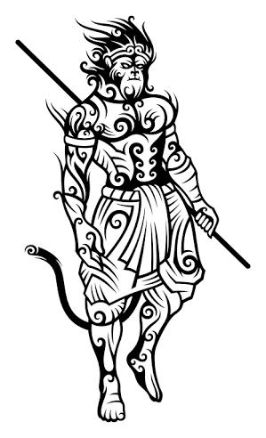 df7355429 monkey tattoo」の画像検索結果 | monkey king tattoo | King tattoos ...
