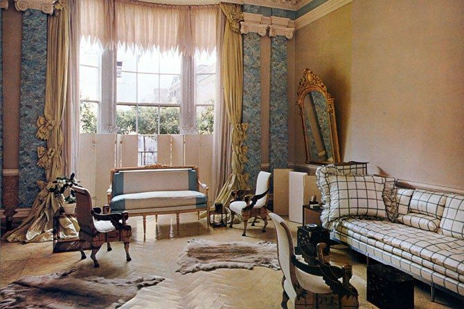 AD Revisits: Pauline de Rothschild's Secluded London Apartment | Architectural Digest