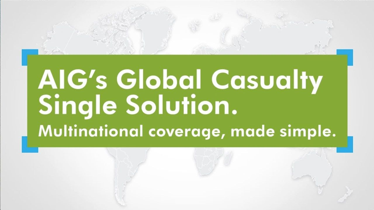 AIG's Global Casualty Single Solution USA Today List of All The Countries TOSHIBA The Republic of Joy Richard Preuss Danmark Denmark