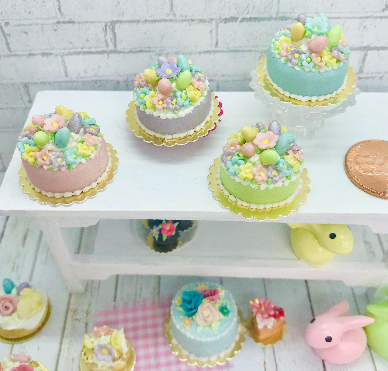Dollhouse Miniatures  Size MARSHMALLOW TREAT Cookie Box