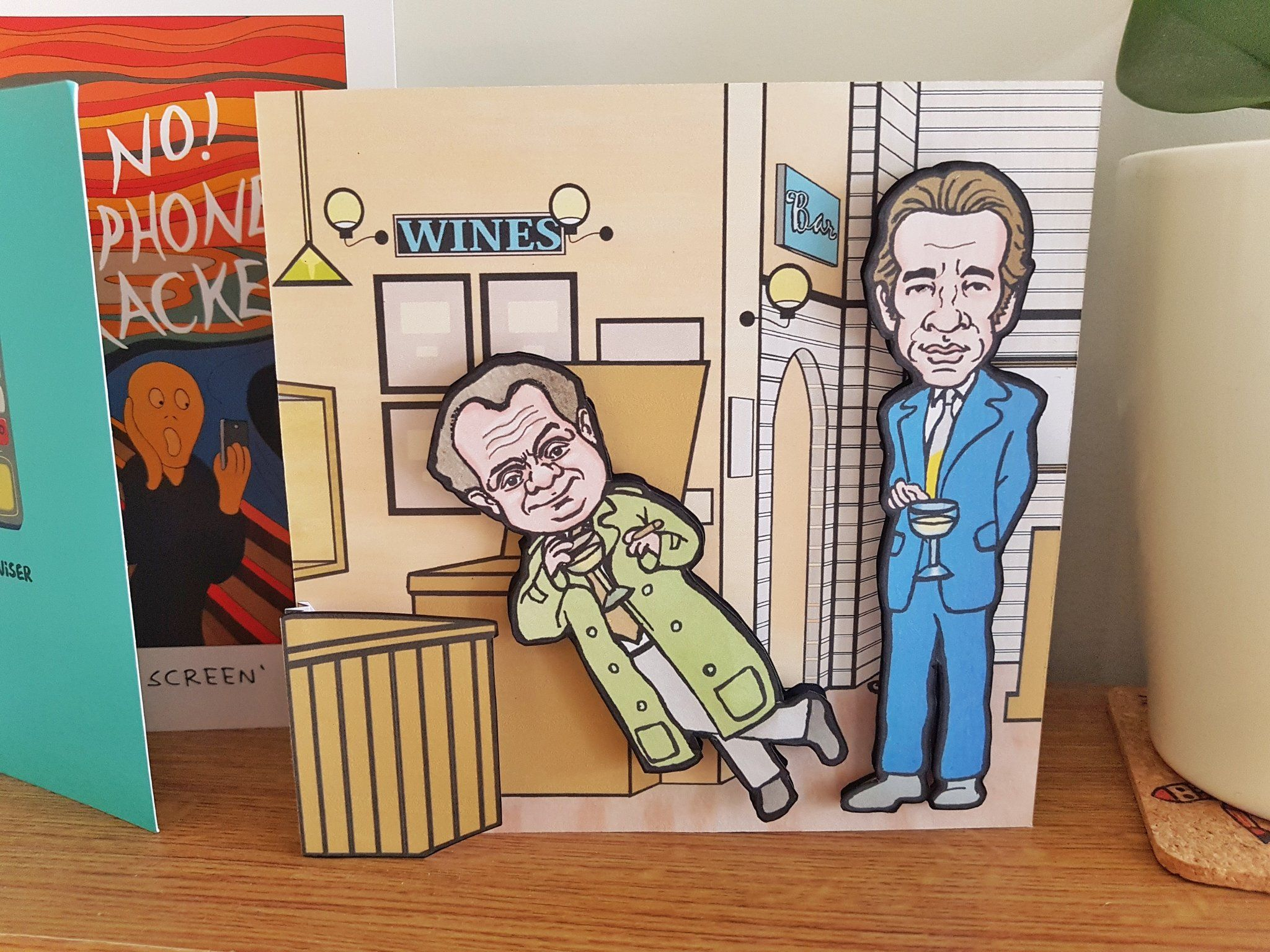 Only Fools And Horses Inspired Moveable 3d Handmade Fun Etsy Only Fools And Horses Fools And Horses Greeting Cards Handmade