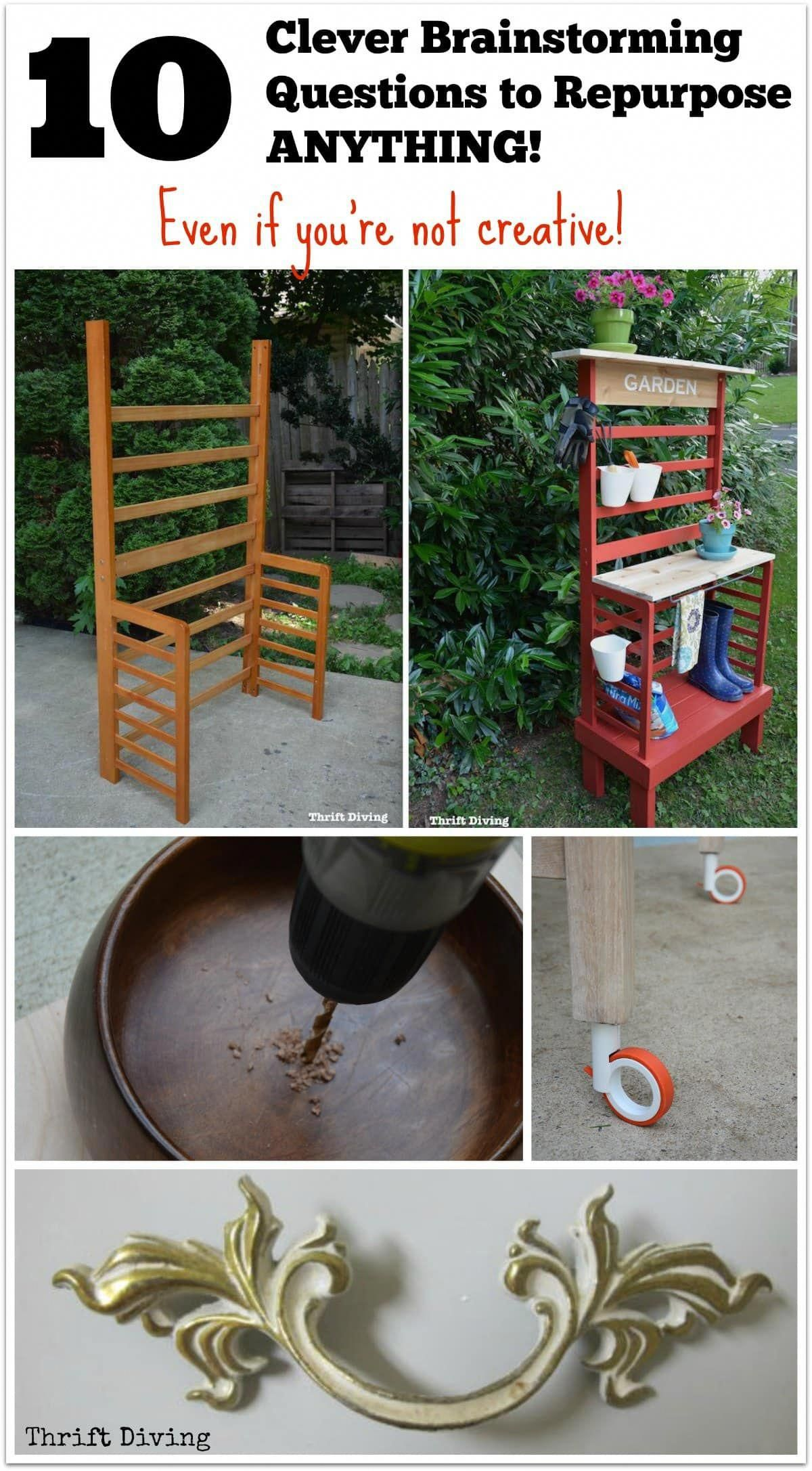 Coming Up With Awesome Repurposed Furniture Ideas And