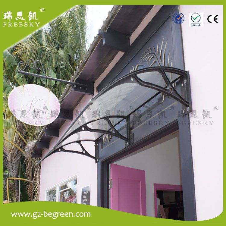 Yp120240 120x240cm Freesky House Use Kits Engineering Plastic Frame Polycarbonate Sheet Entrance Door Cano Canopy Tent Outdoor Diy Door Canopy Aluminum Awnings