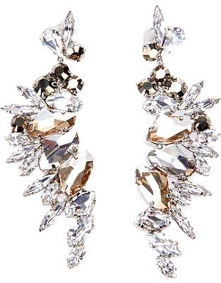 gorgeous swarovski crystal earrings....