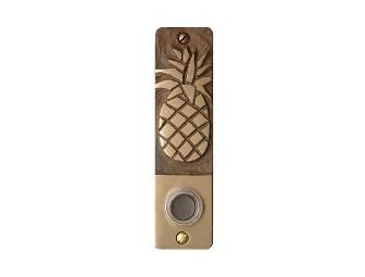 Paul Strauch Studio Pineapple Doorbell Cover Plate