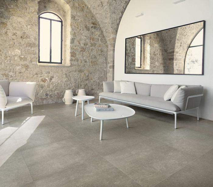 wohnzimmer fliesen 86 beispiele warum sie den wohnzimmerboden mit fliesen verlegen ideen. Black Bedroom Furniture Sets. Home Design Ideas