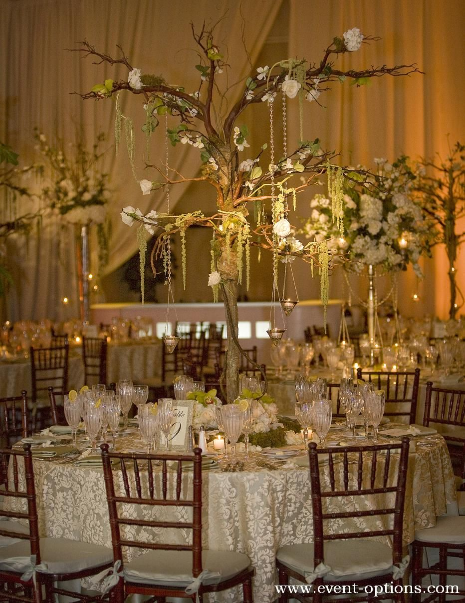tree branch decorations wedding tree branch centerpiece with delicate flowers for an 8055