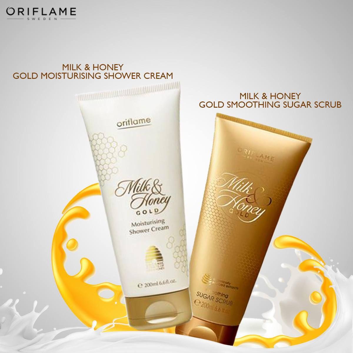 Cleanse Exfoliate And Smoothen Your Skin Try Oriflames Milk Parfum Putri Honey Gold Moisturising Shower Cream Smoothing Sugar Scrub For Best Natural