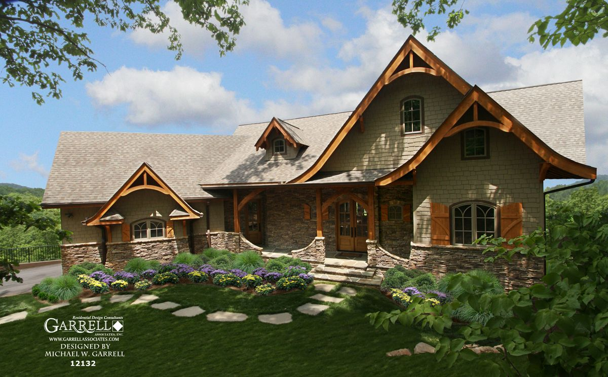Hot Springs Cottage Gable House Plan