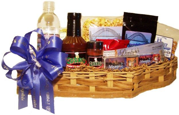 Tennessee Shaped Gift Basket