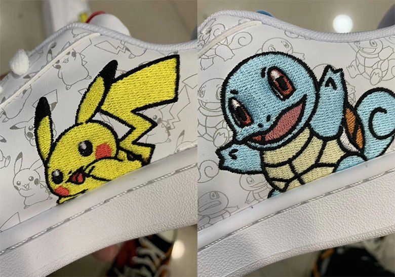 Adidas Pokemon Shoes Pikachu Squirtle First Look Pokemon Diy Shoes Squirtle