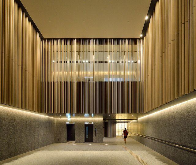Entrance space of Brillia Tower Ikebukuro (ブリリアタワー池袋)