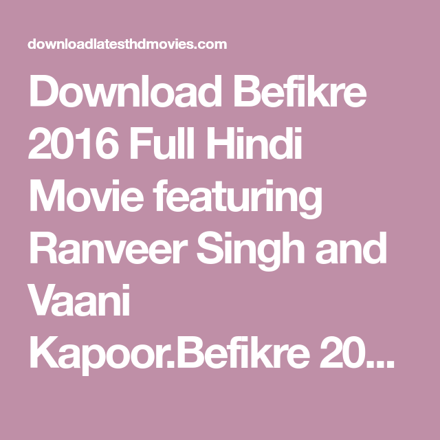 befikre full movie download hd with english subtitles