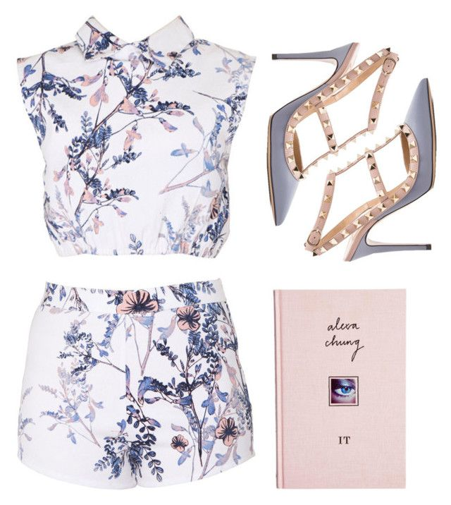 """it girl."" by mackenziehoffman ❤ liked on Polyvore featuring may, ASOS and Valentino"
